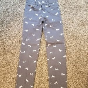 Gymboree size 8 horse print pants
